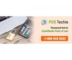 Password lost in QuickBooks Point of sale